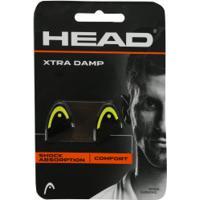 Antivibrador Head Xtra Damp - 2 Unidades - Preto/Amarelo