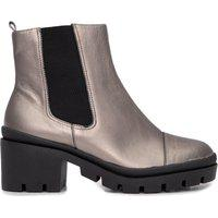 Bota Metal Leather - Prata