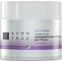 Creme Facial Anti-Idade Hidratante Protetor Dia Fps 20 50G - Unissex