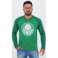 Camiseta Palmeiras Manga Longa Masculina - Masculino