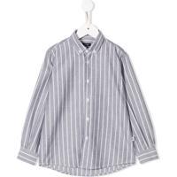 Il Gufo Camisa Listrada - Preto