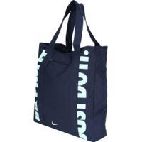 f12159838 Bolsa Nike Gym Tote - Feminina - Azul Esc/Verde Cla