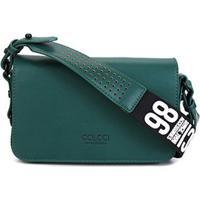 Bolsa Colcci Flap Crossbody Sporting Feminina - Feminino-Verde