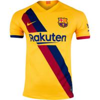Camisa Barcelona Ii 19/20 Nike - Masculina - Amarelo