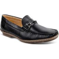 Sapato Masculino Loafer Sandro Moscoloni New Picasso Preto
