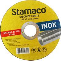 Disco De Corte Para Inox 115X1X22,23Mm