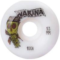 Rodas Narina Skate Pizza 53Mm 100A 100A Branca
