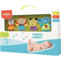 Móbile Musical Para Bebe Safari Friends (3M+) - Buba Buba6697 Mobile Musical Safari