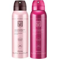 Combo Egeo Desodorante: Desodorante Aerosol Dolce + Desodorante Aerosol Choc