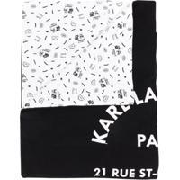 Karl Lagerfeld Kids - Preto