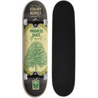 Skate Montado Iniciante Progress - Pgs Ecology Black - Unissex