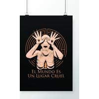 Poster Hombre Palido