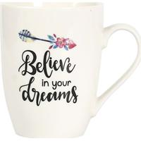 "Caneca ""Always Believe In Your Dreams""- Branca & Preta"