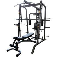 Netshoes  Estação De Musculação Gonew Pro 5.0 Limited C  Rack E Banco -  Unissex dcfce719ea60b