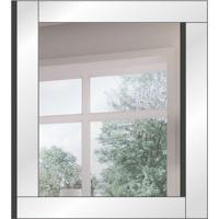 Espelho Decorativo Keep 80 X 70 Cm Prata