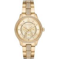 Relógio Michael Kors Feminino Runway Dourado Mk6613/1Dn Mk6613/1Dn