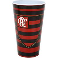 Copo Flamengo Plástico 550 Ml - Unissex