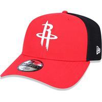 ... Boné New Era Nba Houston Rockets Aba Curva 3930 - Unissex 98cde907513