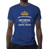 Camiseta Nos Gramados De Minas Gerais Masculina - Masculino