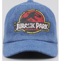 Boné Infantil Jurassic Park Azul Médio