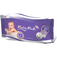 Lenços Umedecidos Camomila 72 Unid Premium Baby Bath