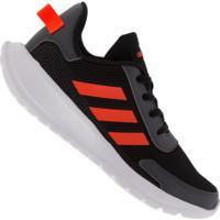 Tênis Adidas Tensaur Run K - Infantil - Preto/Laranja