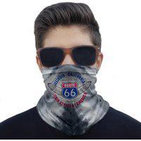 Máscara Bandana Route 66 Proteção Ciclismo Moto Paintball.
