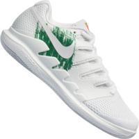 Tênis Nike Air Zoom Vapor X Hc - Masculino - Branco/Verde