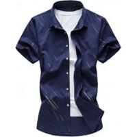 Camisa Social Murray - Navy