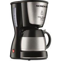 Cafeteira Elétrica Mondial Dolce Arome Thermo, 24 Xícaras, Jarra Térmica, 800W, 110V, Inox - C-33Jt-24X