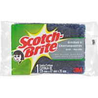 Esponja Grill Unitária Grafite Scotch-Brite