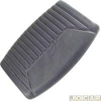 Capa De Pedal - F1000 1993 Até 1998 - Freio E Embreagem - Cada (Unidade)