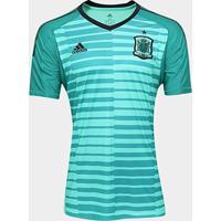 492e5d99eb Netshoes  Camisa Seleção Espanha Goleiro Home 17 18 S N° - Torcedor Adidas  Masculina