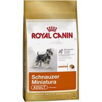 Ração Royal Canin Schnauzer Miniatura 25 Adult - 2,5Kg