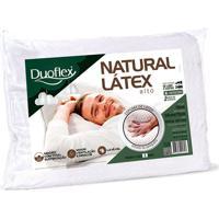 Travesseiro Ln1100 Natural Látex Alto Duoflex