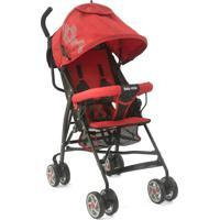 Carrinho Bebê Guarda Chuva 6-36 Mês 15Kg Umbrella Baby Style Vermelho