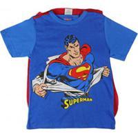 Camiseta Infantil Marlan Capa