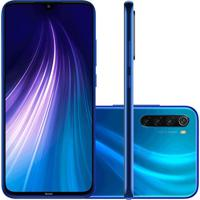 Smartphone Xiaomi Redmi Note 8 64Gb Versão Global Desbloqueado Azul