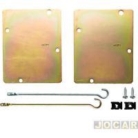 Suporte Da Trava Elétrica - Dial - Hilux 2011 Em Diante - 2 Portas - Jogo - Lty42