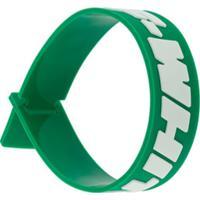 Off-White Pulseira 2.0 Industrial - Verde