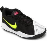 Tênis Infantil Nike Team Hustle Quick 2 Gs - Unissex-Preto+Azul