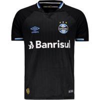 Camisa Umbro Grêmio Iii 2018 N° 10 Masculina - Masculino