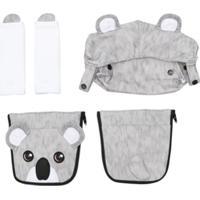 Dolce & Gabbana Kids Conjunto Infantil Koala - Cinza