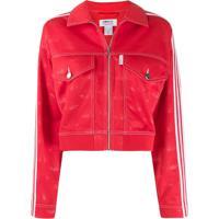 Fiorucci Jaqueta All Over Angels Fiorucci X Adidas - Vermelho