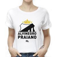 Camiseta Santos Alvinegro Praiano Feminina - Feminino