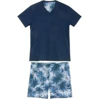 Pijama Masculino Daniela Tombini Bermuda Tropical