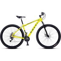 340adf4d0 Netshoes  Bicicleta Colli Mtb Aro 29 Alum. Kit Shimano 21M Susp. Dianteira  Freios A Disco