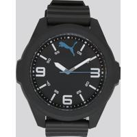 Relógio Analógico Puma Masculino - 96296G0Psnp1 Preto - Único