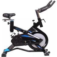 Bicicleta Ergométrica Spinning Azul 120Kg Oneal - Unissex