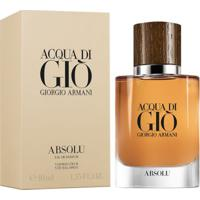 Acqua Di Gio Absolu De Giorgio Armani Eau De Parfum Masculino 125 Ml